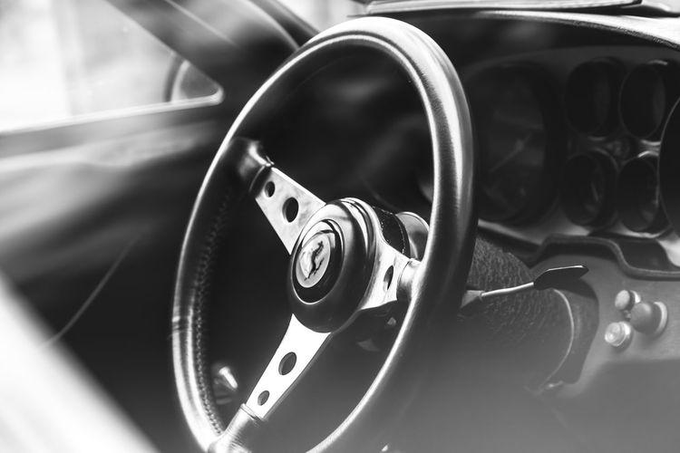 8sechs400 Classic Classic Car Ferrari High Resolution Interieur Prancing Horse Scuderia Scuderia Ferrari Cockpit Interior Lenkrad Oldtimer Shield Sportscar Sportwagen Steering Wheel Supercar