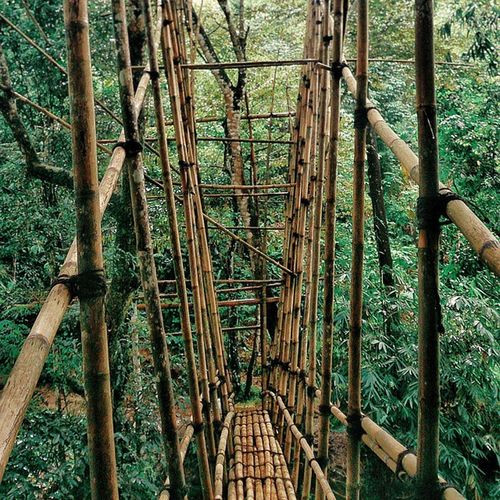 Baduydalam Jembatan INDONESIA Banten Jembatanbambu Sukubaduy Vscocam