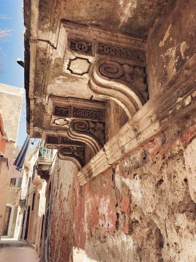 Graziella - Ortigia Architecture Built Structure Building Exterior Low Angle View History Travel Destinations Day No People Outdoors Sky Ancient Civilization Discover Your City