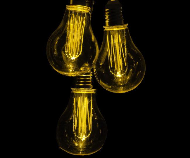 Antique Styled Light Bulb Antique Styled Light Bulb Black Background Close-up Electricity  Filament Filament Bulb Filament Lamp Filament Light Glass - Material Light Bulb Studio Shot