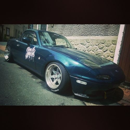 Sun shines on the righteous. Mx5 Mazda Rsltd Eunos mazdaspeed miata japan France twitter