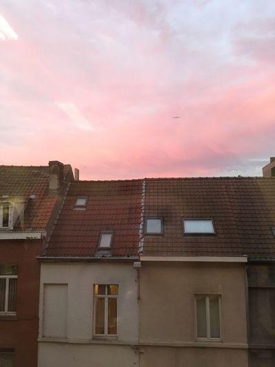 Millennial Pink EyeEmNewHere Sunset Ghent,Belgium Pink Sky Building Exterior City