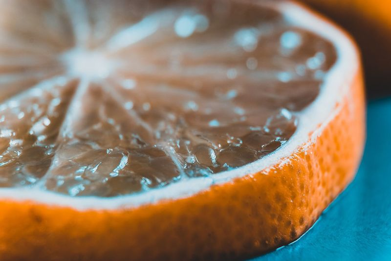 EyeEm Best Shots EyeEm Gallery EyeEm Selects Food And Drink Freshness Food Close-up Healthy Eating Drink Indoors  Wellbeing No People Refreshment Fruit SLICE Selective Focus Citrus Fruit Household Equipment Focus On Foreground Still Life Lemon Drinking Glass Glass