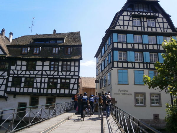 Charming houses in Strasbourg, France Alsace Architecture Building Exterior Built Structure France Lifestyles Petite France Residential Building Residential Structure Strasbourg Travel Destinations