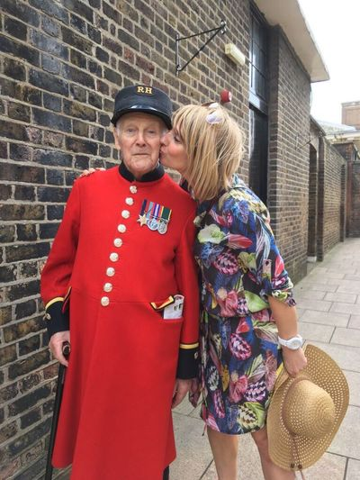Tommy 97 years old this November First Workd War and a Chelsea Pensioner Chelsea London ChelseaFlowerShow🌺🌷🌷 Enjoyment
