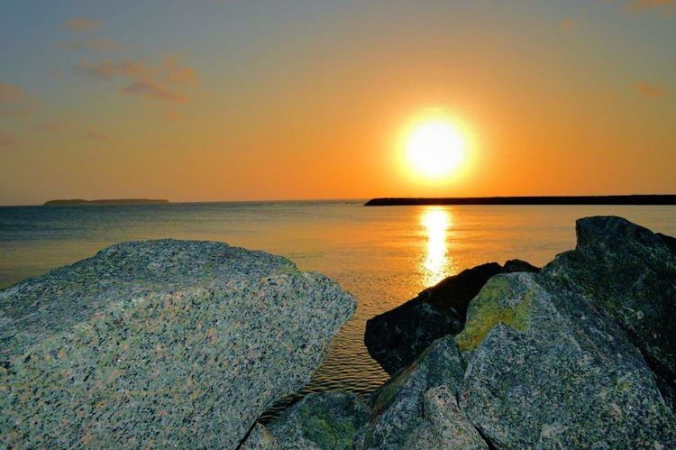 Photography Sunset Water Majestic Horizon Over Water Nature Mar Praia Saoluis Camera Saoluisdomaranhao Nikonphotography Pordosol