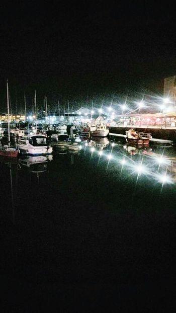 Boats⛵️ Night Photography Plymouthbarbican