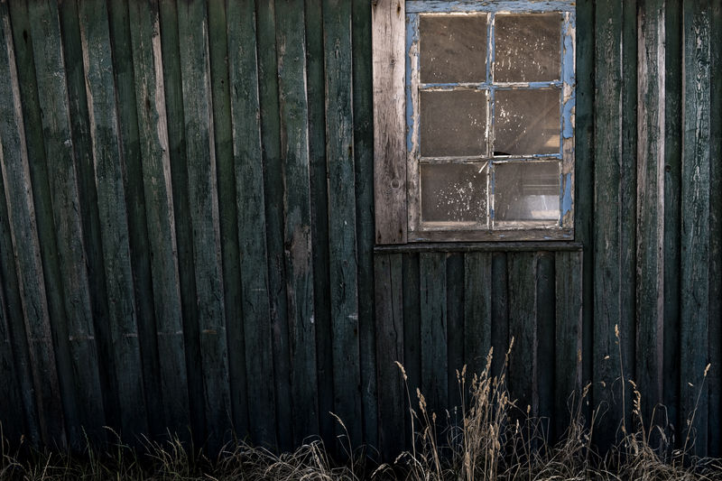 Old Fishermans house. Abandoned Architecture Building Building Exterior Built Structure Closed Corrugated Day Deterioration Door Entrance House No People Old Outdoors Plant Protection Run-down Safety Security Weathered Window Window Frame Wood - Material