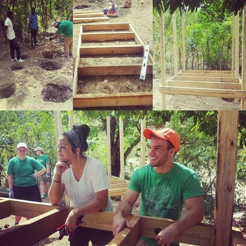 The chicken coops are starting to take shape thanks to the Nextstepministries trip we have in this week! Haiti Fondblancfoundation WinnerWinnerChickenDinner
