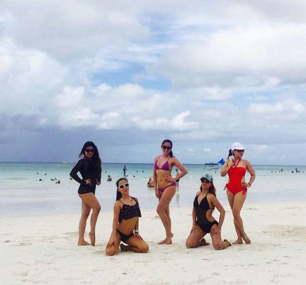 Sambistas at Boracay Island..
