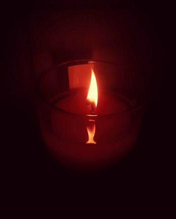 Flame Burning Heat - Temperature Close-up No People Illuminated Indoors  Scented Candle Meditation Zen