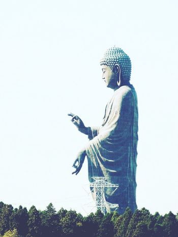 大きかった〜^^; Buddha Statue Ushiku Happy Sunday Awesome So Big