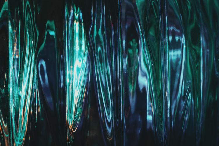 Full frame shot of glass lights