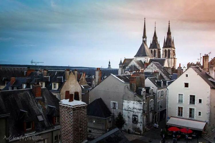 Sur les toits de Blois. Blois Sky And Clouds Sky Porn