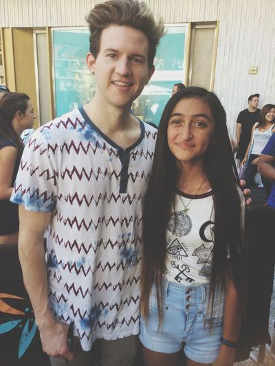 I jUST MET RICKY DILLON AND I MAY OR NOT BE CRYING