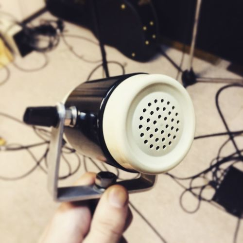 Good Sound Nice Place Mic Microphone Phonophone Funny Strange Design Strange Studio Studio Time