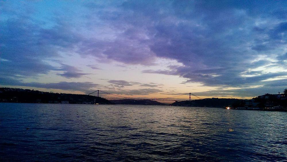 Istanbul İstinye Landscape Bosphorus Fatih Sultan Mehmet Koprusu Sea Relaxing