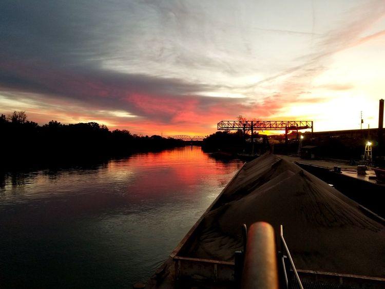 Capture Tomorrow Water Sunset Sky Cloud - Sky Boat Dramatic Sky Atmospheric Mood