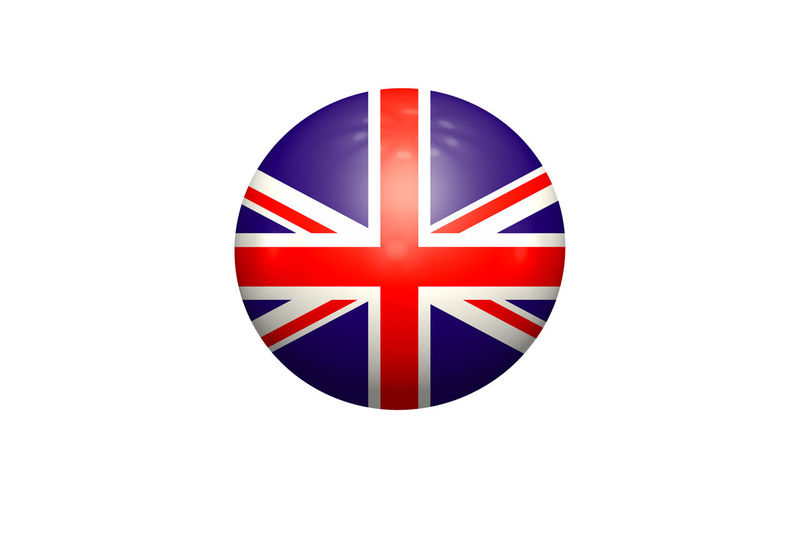 Ball with Union Jack on white background White Background Flag Patriotism Studio Shot Shape Pride Symbol Indoors  No People Communication Close-up Geometric Shape Striped Sign Design Red Circle Independence National Icon #NotYourCliche Love Letter