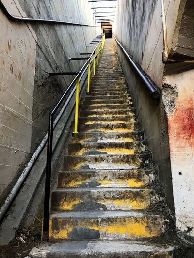 IPhone7Plus Steps Steps And Staircases Staircase Built Structure Architecture Stairs Railing No People The Way Forward Building Exterior Outdoors Day Hand Rail