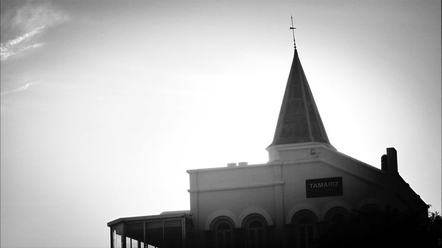 This is Tamariz a Bar restaurant near the beach.. Oceansiderestaurants EyeEm Black&white! Walking Around