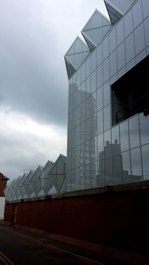 University Of Leicester Uol Engineering Architecture Building Glass Geometric