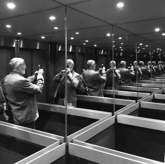 Selfie in an elevator First Eyeem Photo IPSPerspective