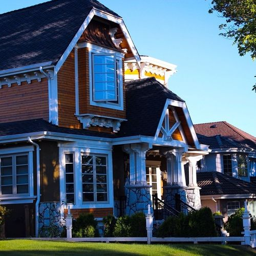 Beautifully crafted house in Vancouver. Architecture , Housedesign , Singlefamilydwelling , Superbdesign