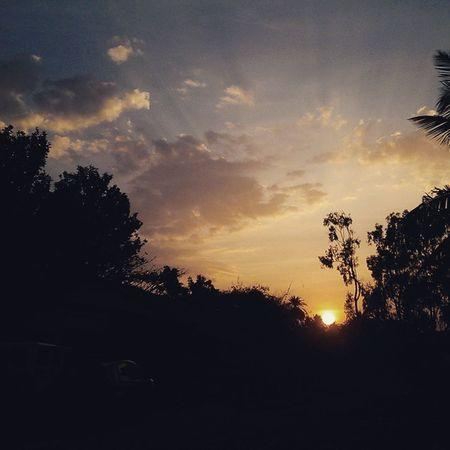 Hassan Farmhouse Sun Sunset Beautiful Nature @amazingearthgallery