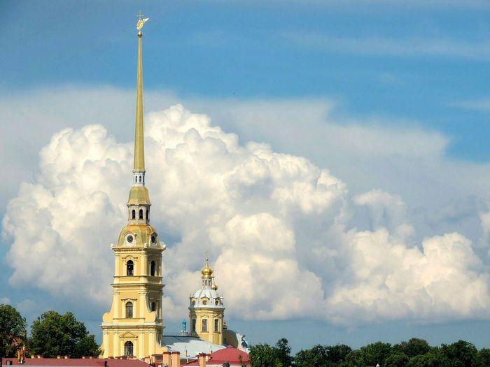 Город - сказка😍 Piter ❤️ Russia Sky Russian Federation Saint-Petersburg Tourism Architecture Summer