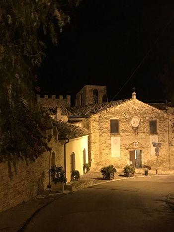 Medieval MedievalTown Medieval Architecture Grottammare Marche
