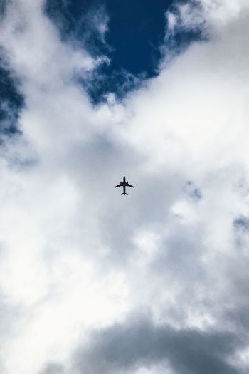 Air Vehicle Airplane Airshow Cloud - Sky Day Fighter Plane Flying Low Angle View Mid-air Military Airplane No People Outdoors Sky Transportation Travel