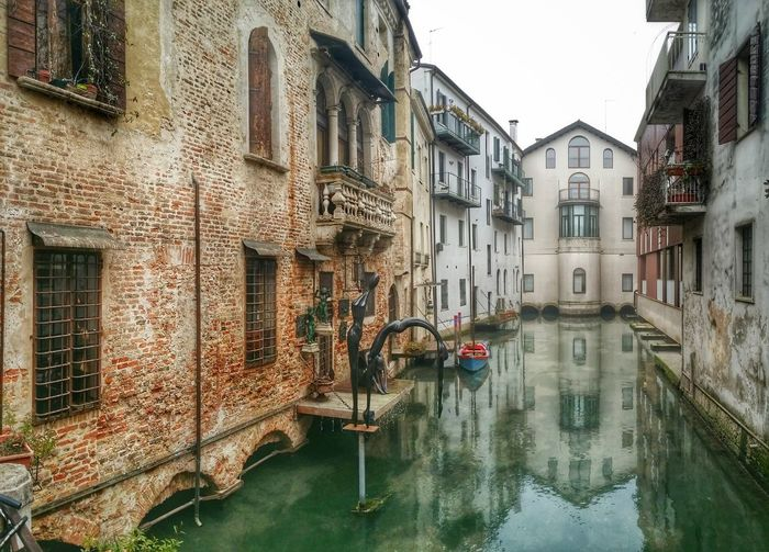 Showcase: February Treviso Italy Travel Traveling Travel Photography Historical Buildings Canals Boats Statues Art Installations Art Workshops Reflections And Shadows Symmetrical Images Mobile Photography Art Fineart Mobile Editing
