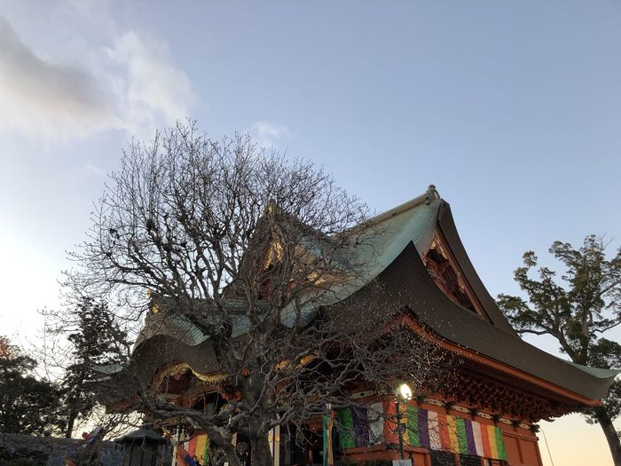 a shrine in