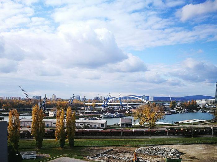 Cloud - Sky Outdoors Day Sky City Autumn🍁🍁🍁 Beauty In Nature First Eyeem Photo Nature Autumn Colors Bratislava, Slovakia