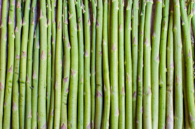 Detail Shot Of Asparagus