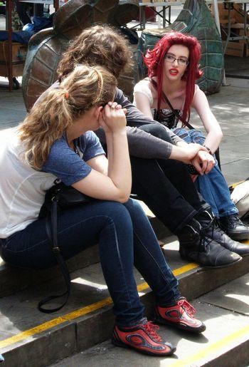 Street Photography Street Fashion Redhair