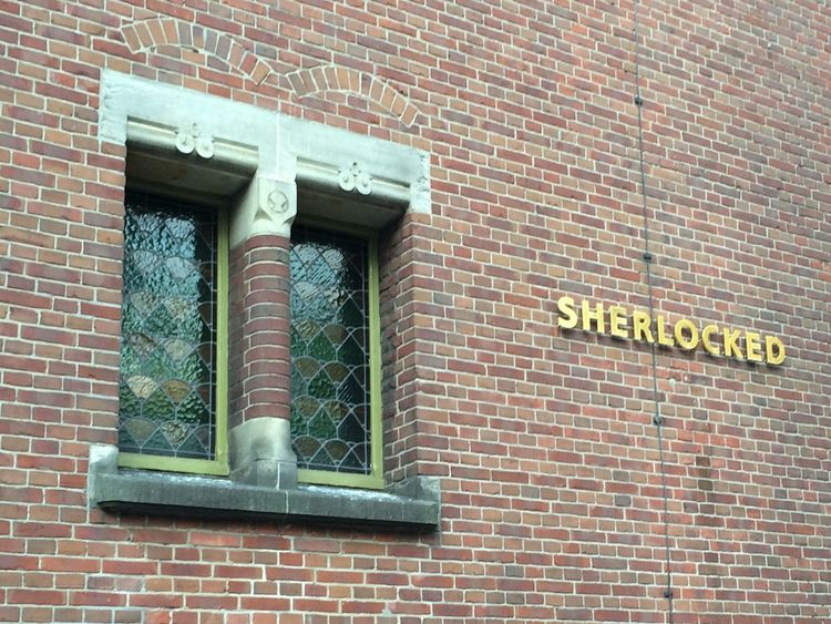 Brick Wall Building Exterior Wall - Building Feature Outdoors sNo People e Sherlocked Big Fan Lovely Amsterdam Wall Built Structure Sherlock