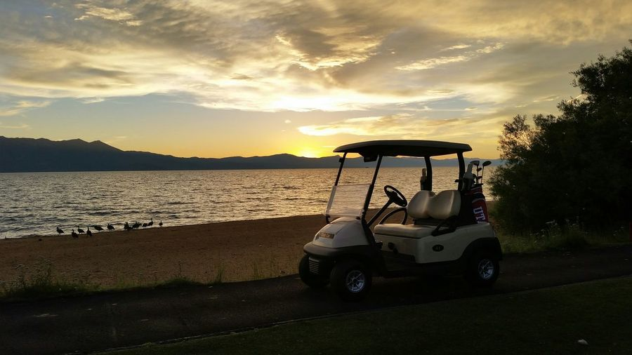 One of my most favorite Sunsets ever! Lake Tahoe did not disappoint! Golfing at Edgewood