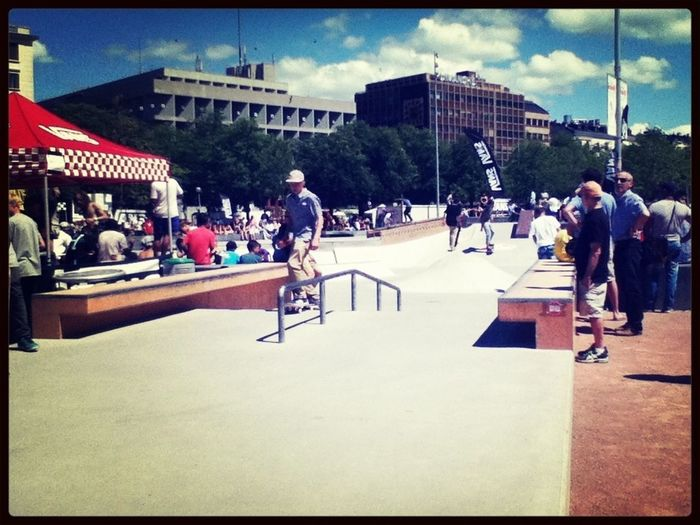 Skateboarding Contest