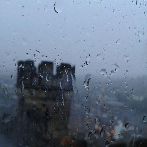 Rainy Durham Durhamcastle Snowing view nofilter