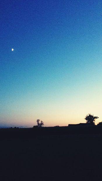 Nightphotography Sunshine Beautiful Moon