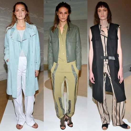 tracksuit cool for Belstaff SS 16 Lfw  SS16