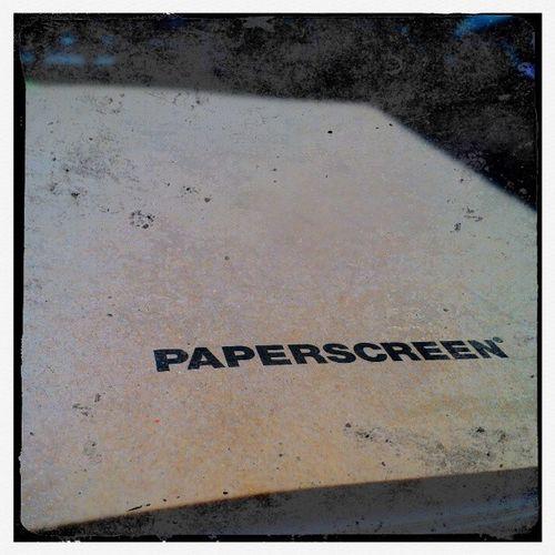 Paperscreen Work