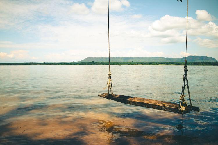 Swing At Lake