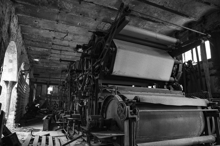 Old Paper industry Blackandwhite Black And White Black & White Industrial Industry Paper Industry EyeEm Best Shots Eye4photography  EyeEm Gallery EyeEm Selects EyeEm EyeEmBestPics Civilization Architecture Built Structure Manufacturing Equipment Manufacturing Occupation Industrial Building