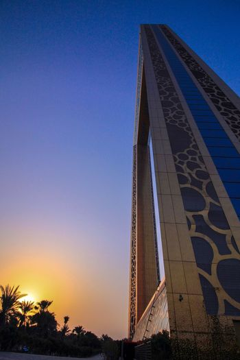 Sunset at Dubai