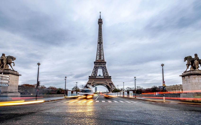 City Eiffel Eiffel Tower France French Long Exposure Paris Tower Urban Fresh On Market 2017