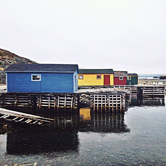 Fishing cabins in Back Harbour, Twillingate, Newfoundland Travel The Explorer - 2014 EyeEm Awards The Environmentalist – 2014 EyeEm Awards Landscape