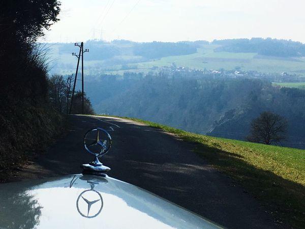 EyeEmNewHere Mercedes Oldtimer EyeEm Masterclass Drive By Shooting The Car Star Mountain Range